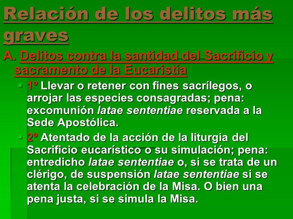 3º Concelebración prohibida del Sacrificio eucarístico simultáneamente con ministros de comunidades eclesiales, que no tienen sucesión apostólica ni reconocen la dignidad sacramental de la ordenación sacerdotal.