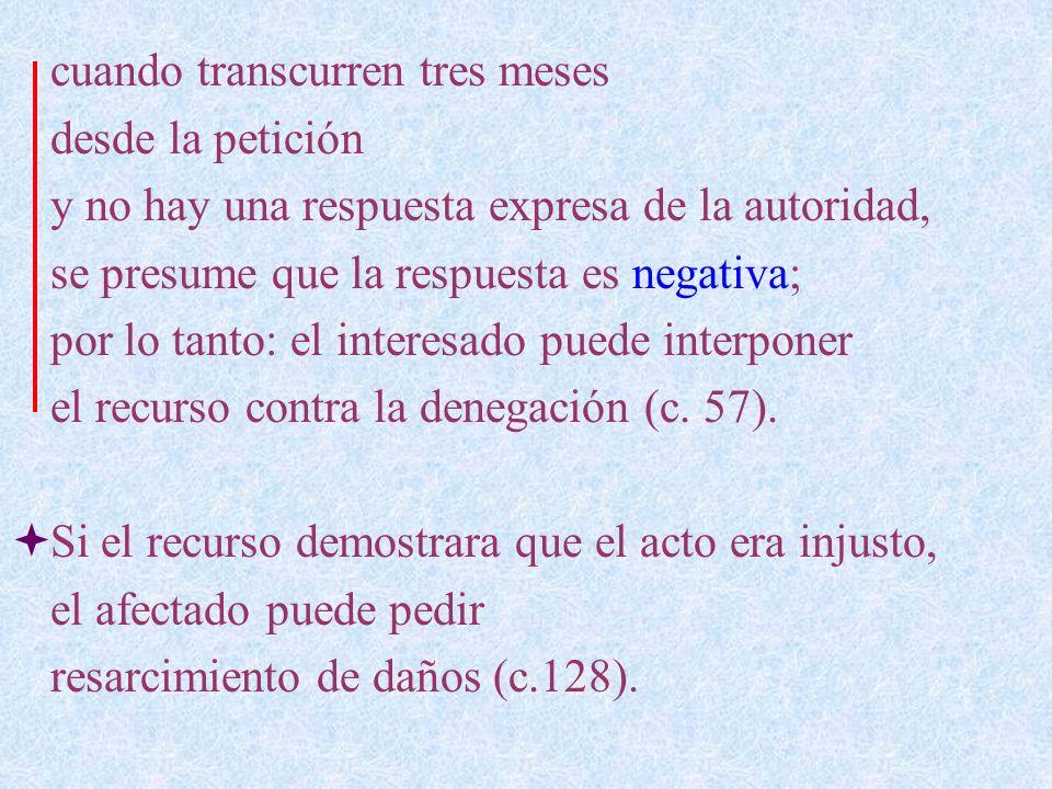 La gracia negada por una autoridad no puede ser luego concedida por otra inferior, pero sí por una del mismo rango con las condiciones de los cc.