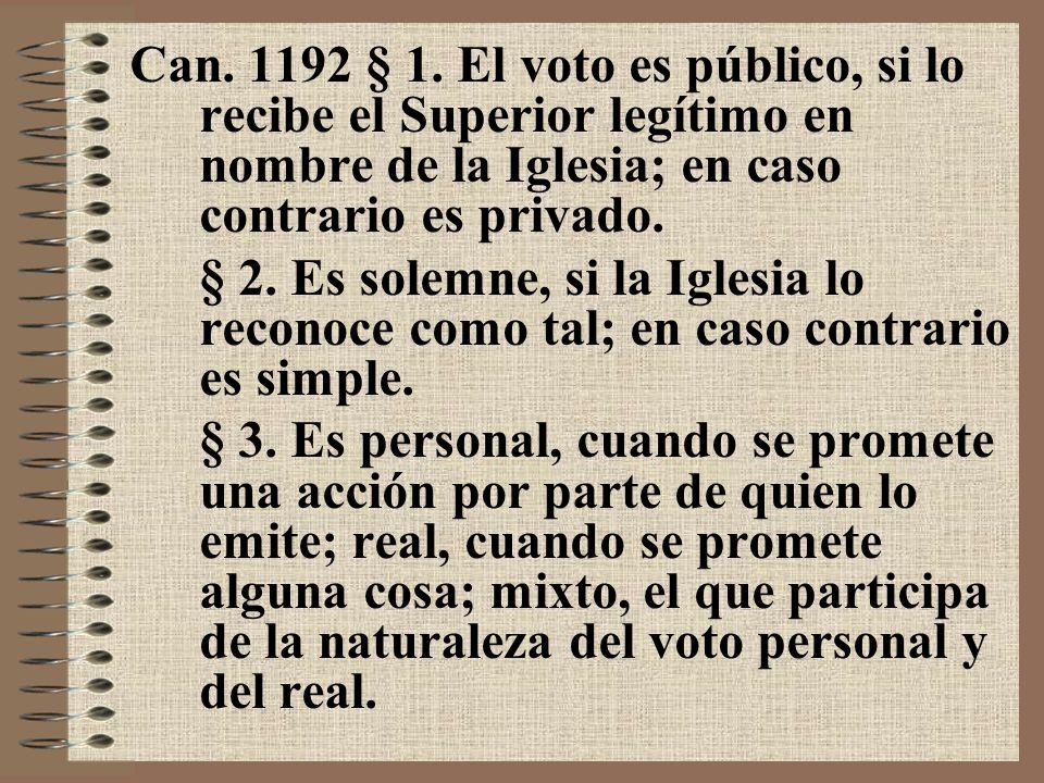 5.B. El juramento Can. 1199 § 1.