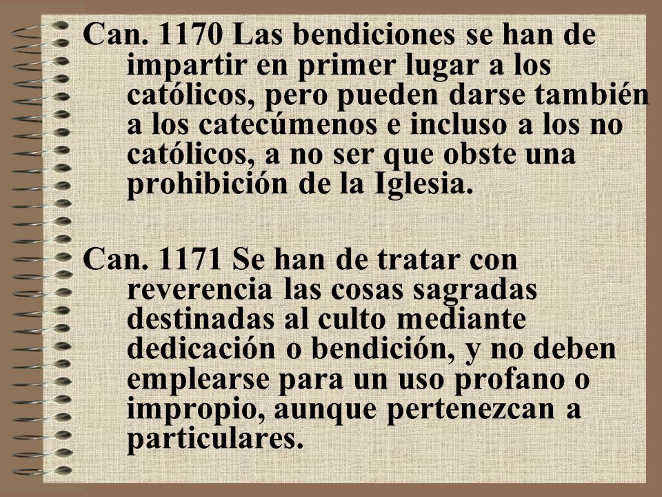 Can.1172 § 1.