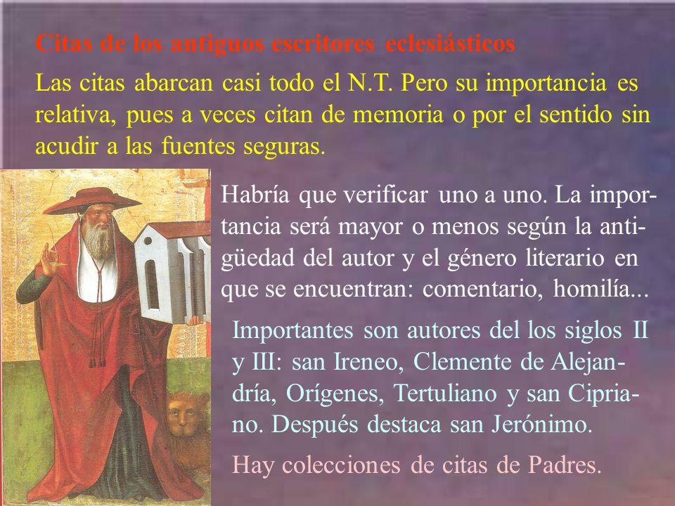 Una 4ª recensión (H) surge en Antioquía (s IV), por obra de Luciano.