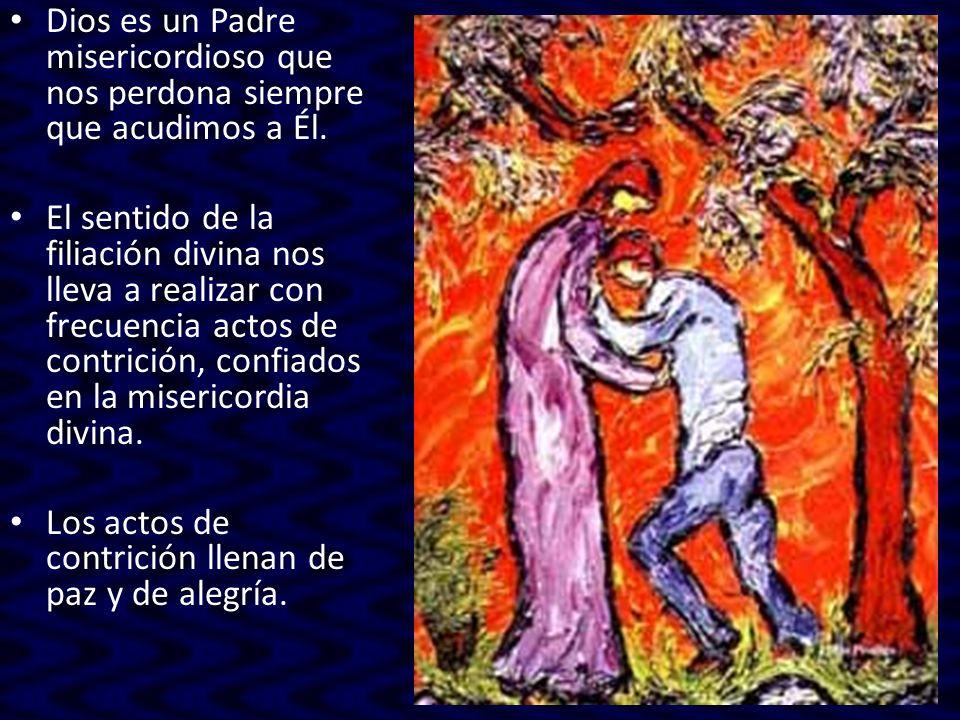 Consecuencia práctica es la importancia del examen de conciencia previo a la Confesión.