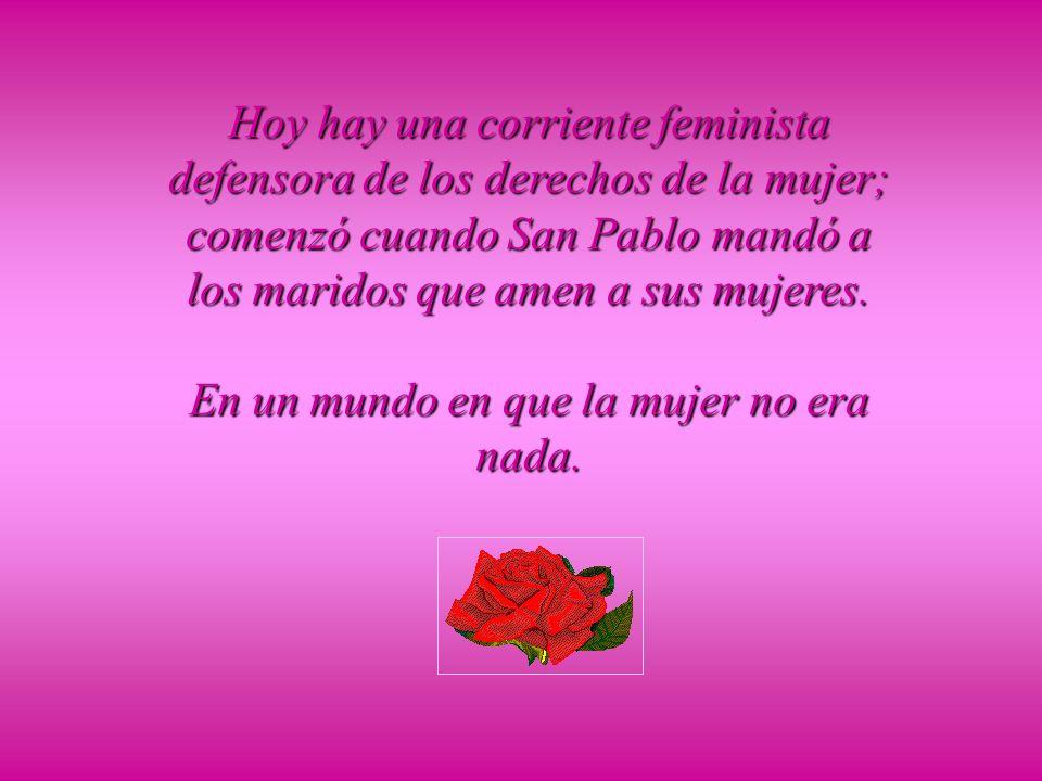 La mujer debe ser femenina y el hombre masculino.