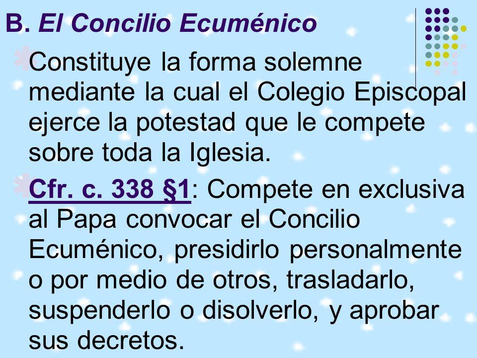 El canon 1372 prevé de una censura a quien recurre al Concilio Ecuménico o al Colegio Episcopal contra un acto del R.