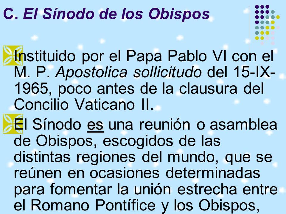 3.Mantener relaciones estrechas con la Conferencia Episcopal, de la que sin embargo no son miembros (c.