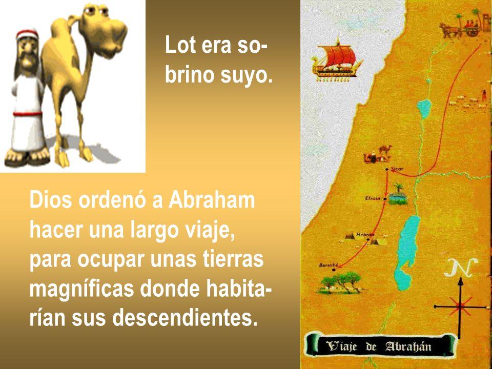 -¡Alto, Abraham!- ordenó Dios.
