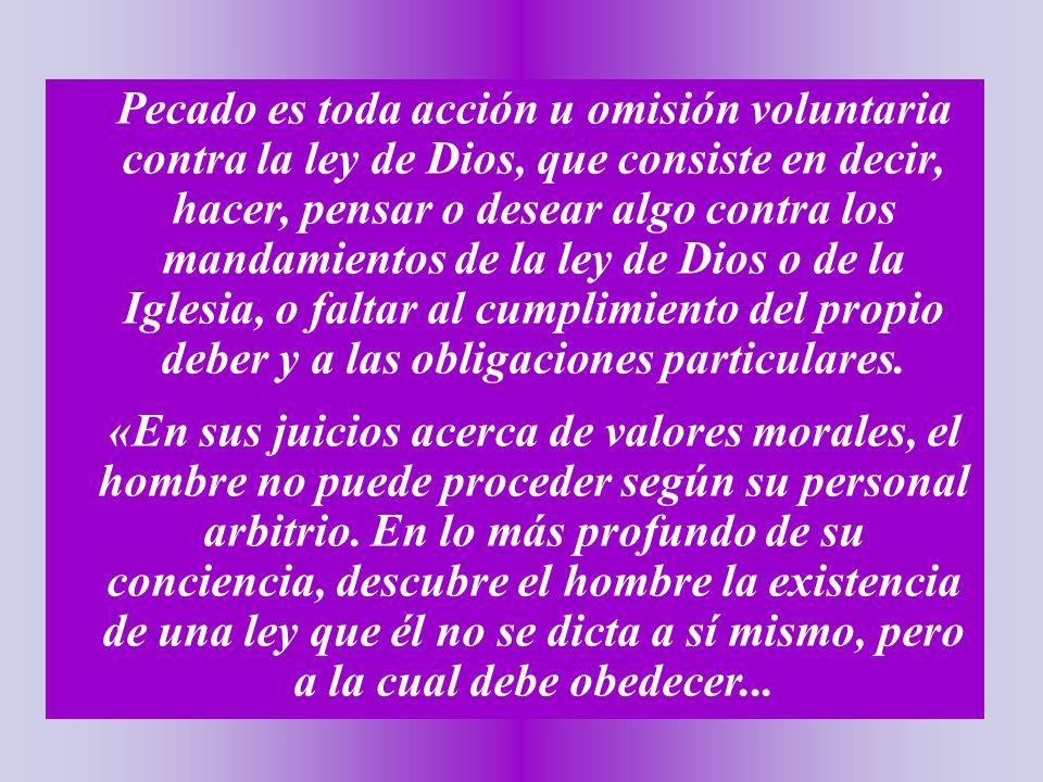 La Autoridad de la Iglesia, que es objetiva e independiente, señala lo que es bueno o malo.