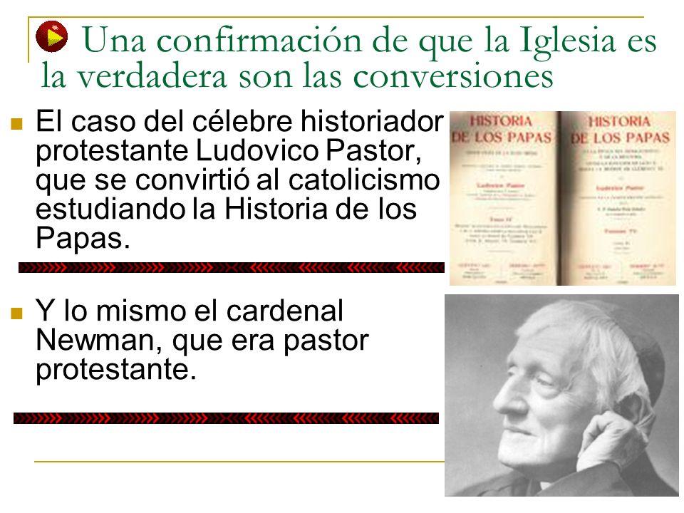 Una confirmación de que la Iglesia es la verdadera son las conversiones El caso del célebre historiador protestante Ludovico Pastor, que se convirtió