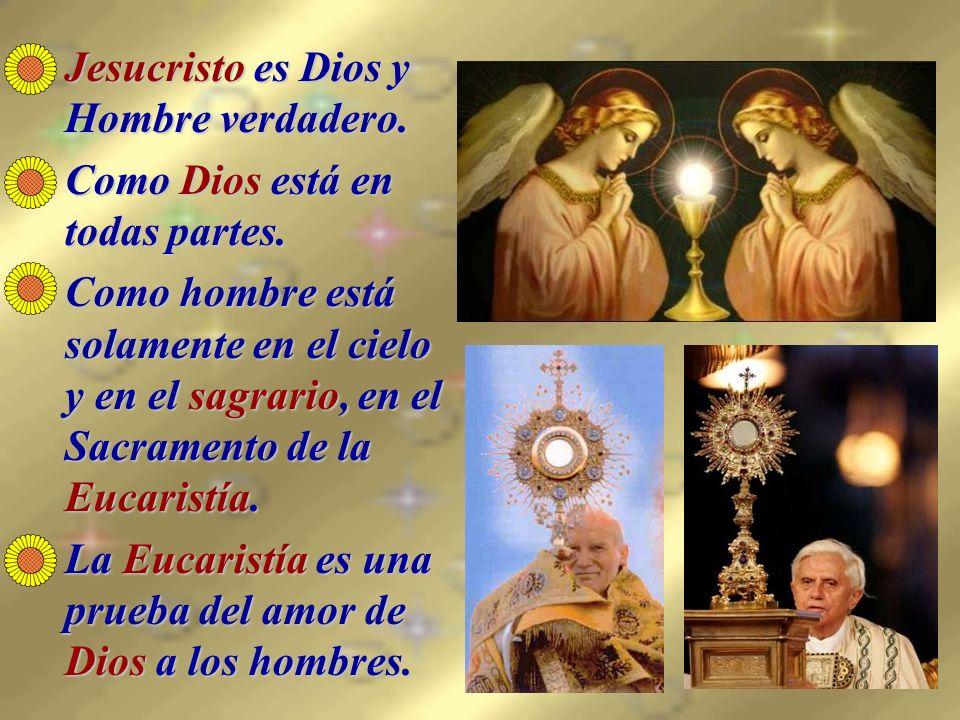 El sagrario es lo más importante de la iglesia; aunque a veces no está en el altar mayor.El sagrario es lo más importante de la iglesia; aunque a veces no está en el altar mayor.