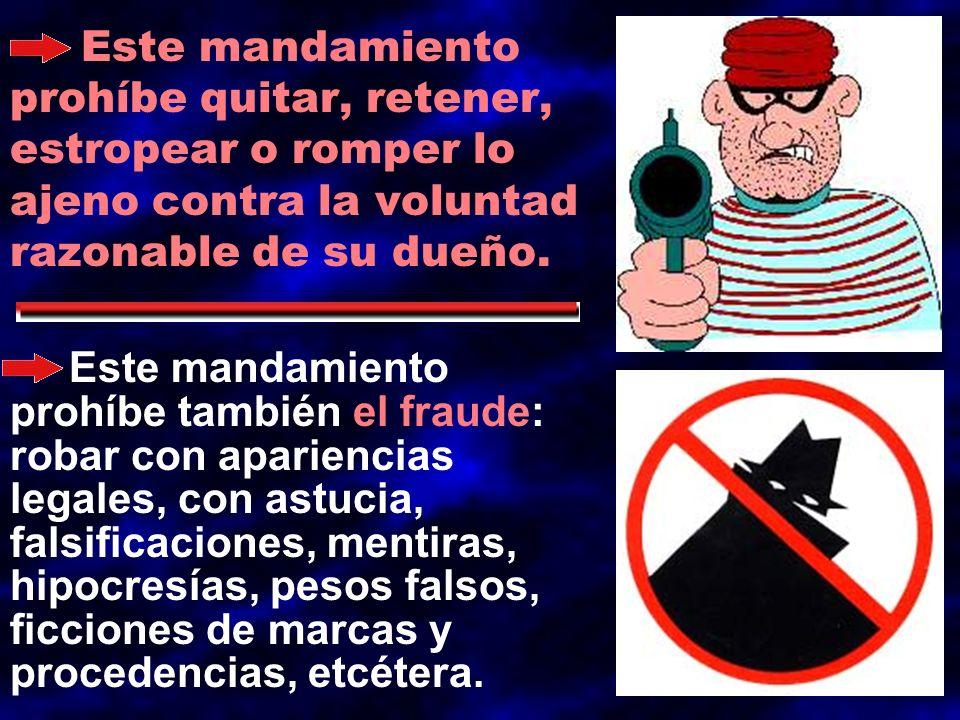 Los robos pequeños pueden llegar a ser pecado grave, cuando se acumulan: por tener intención de robar mucho.