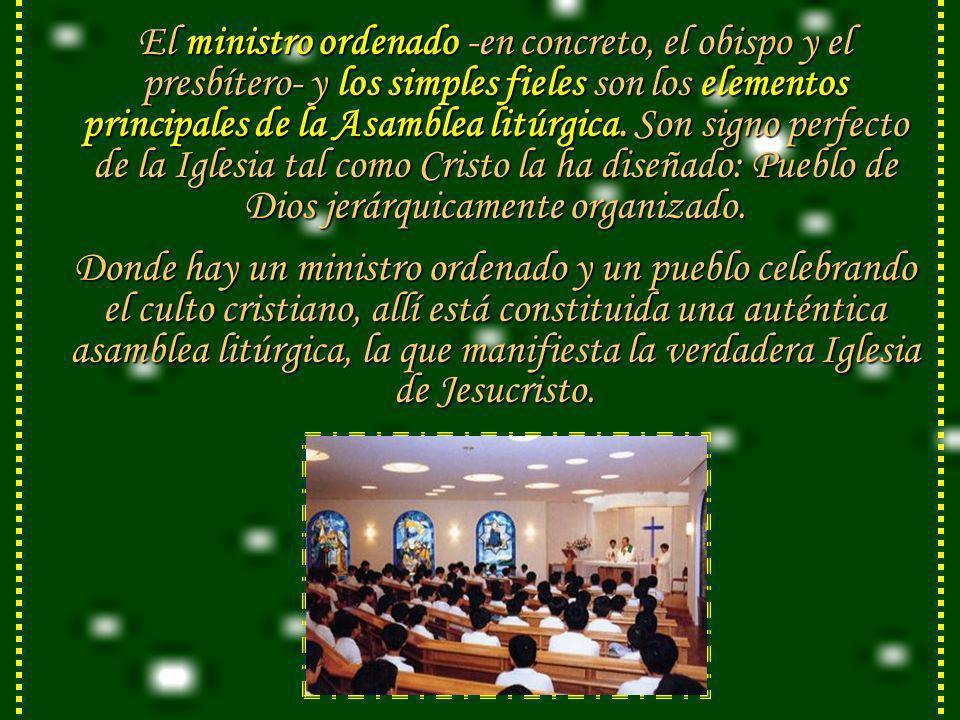 Indudablemente, dirigir la oratio al Señor en nombre de la Iglesia y ...