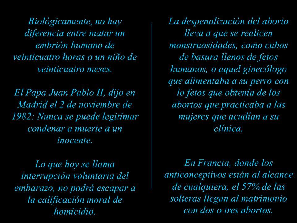 Las mujeres abortistas dicen que ellas hacen de su cuerpo lo que quieren; pero el feto no es una verruga. Es un ser humano (Observar cómo el bebé toma