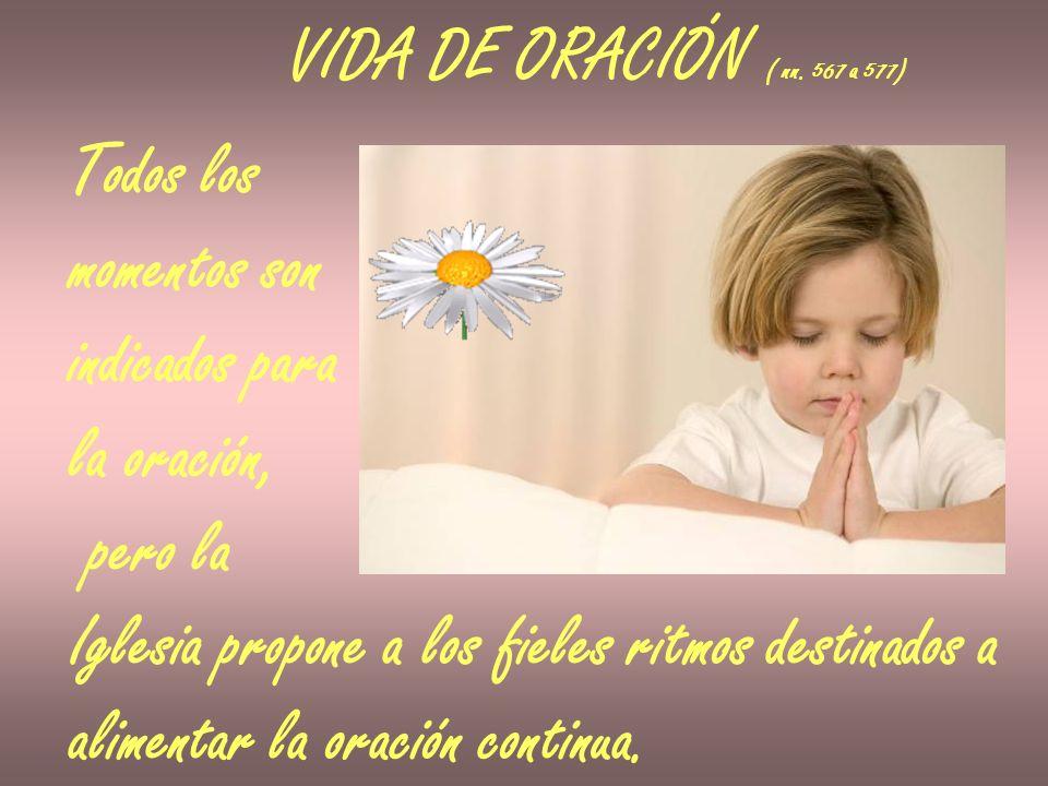 VIDA DE ORACIÓN ( nn.