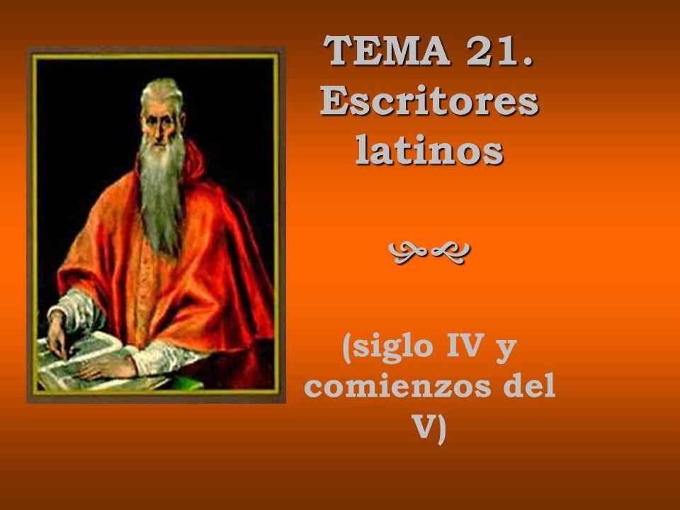 396: Se instala en Belén, donde compone la mayoría de sus obras.