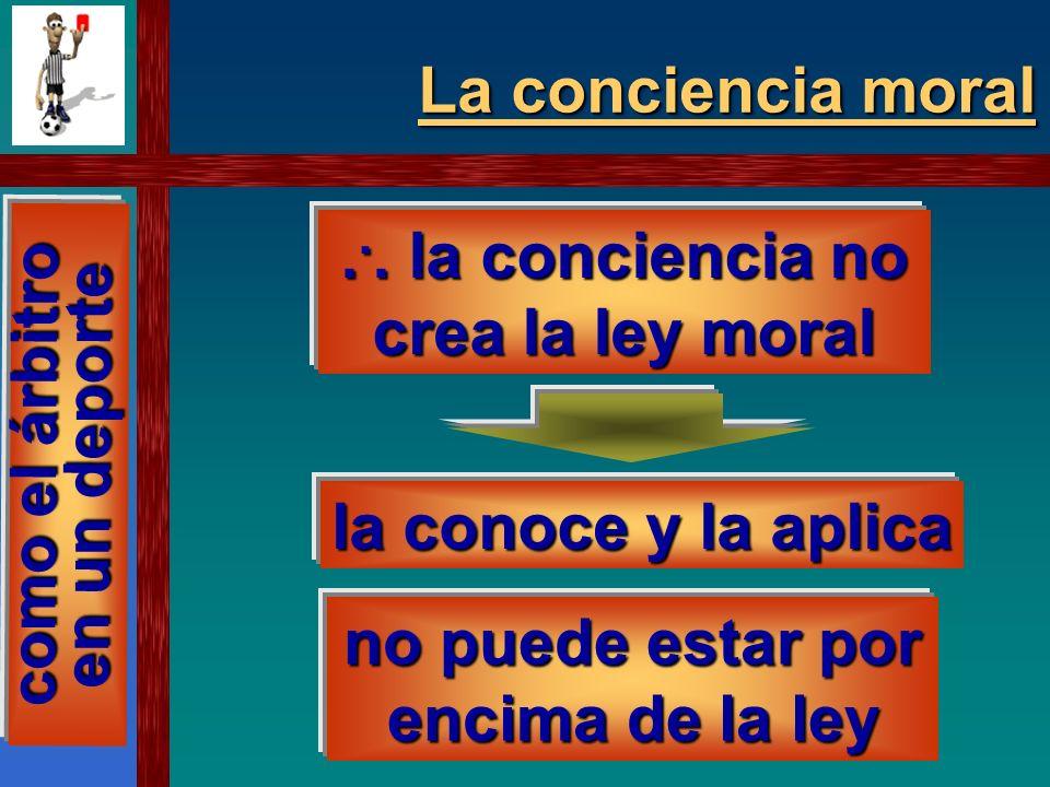 La conciencia moral Hay que obrar bien y en conciencia Hay que obrar bien y en conciencia con una conciencia rectamente formada pues cada uno es libre y responsable de sus actos