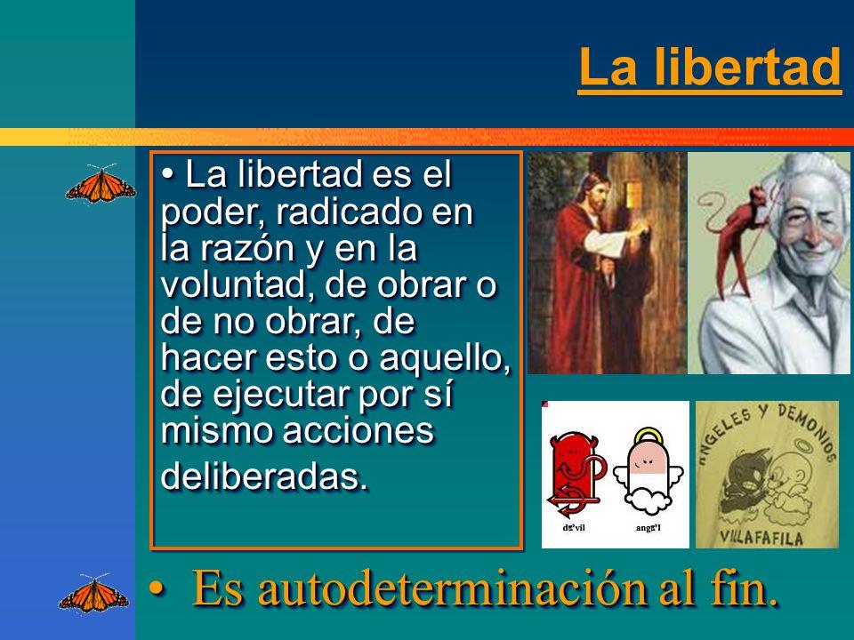 La libertad ¡HACER EL BIEN PORQUE QUEREMOS.