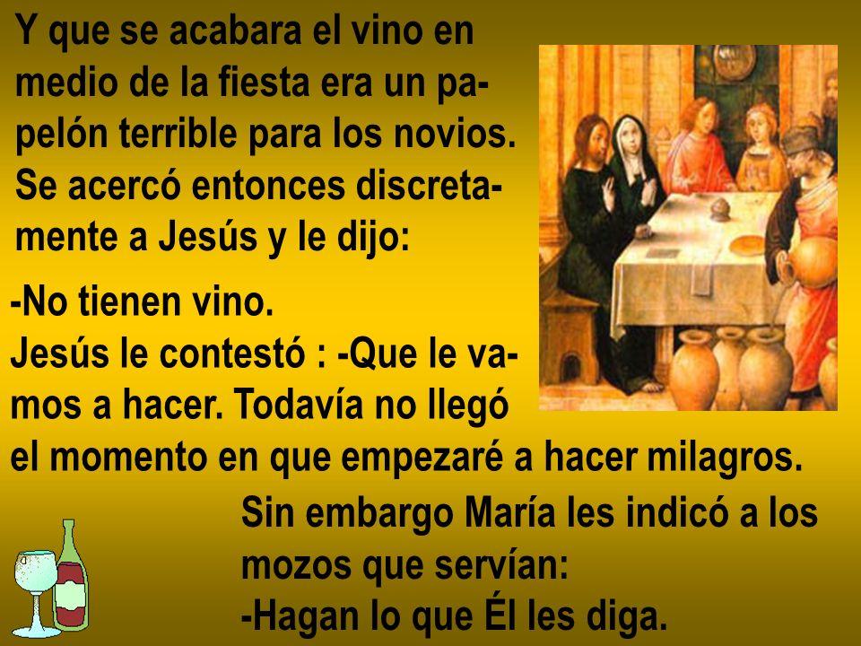 Jesús les indicó a los Apóstoles que hicie- ran sentar a la gente y repartieran entre ella estos panes y peces.