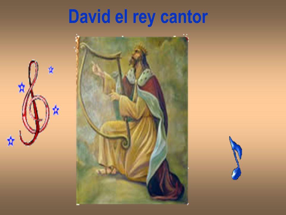 En la corte alguno propuso que buscaran alguien que supiera tocar música suave, para calmar al Rey cuando le daba el ata- que.