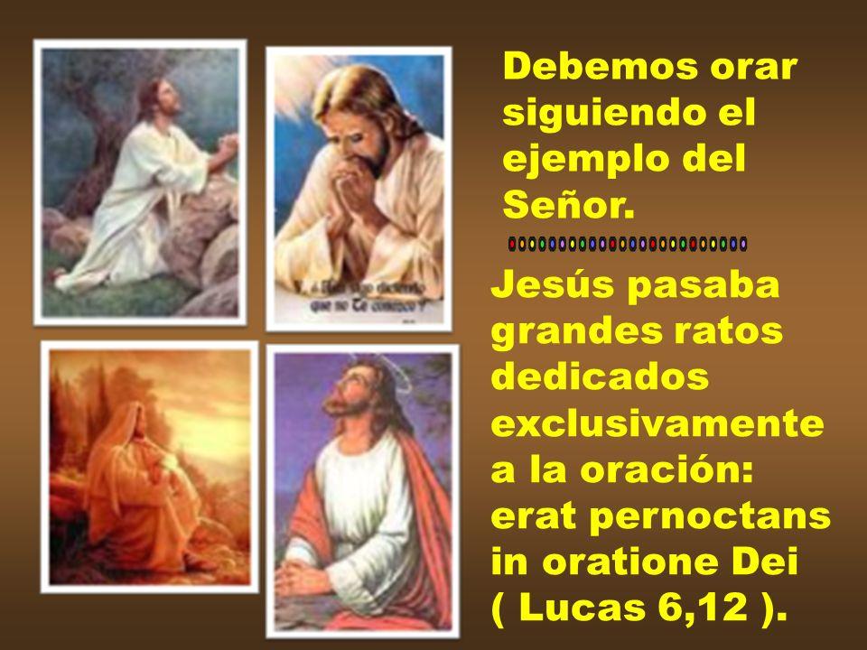 C) Los primeros cristianos nos dan ejemplo: los Apóstoles eran perseverantes unanimeter in oratione ( Act 1,14; cfr Act 2,42 ).