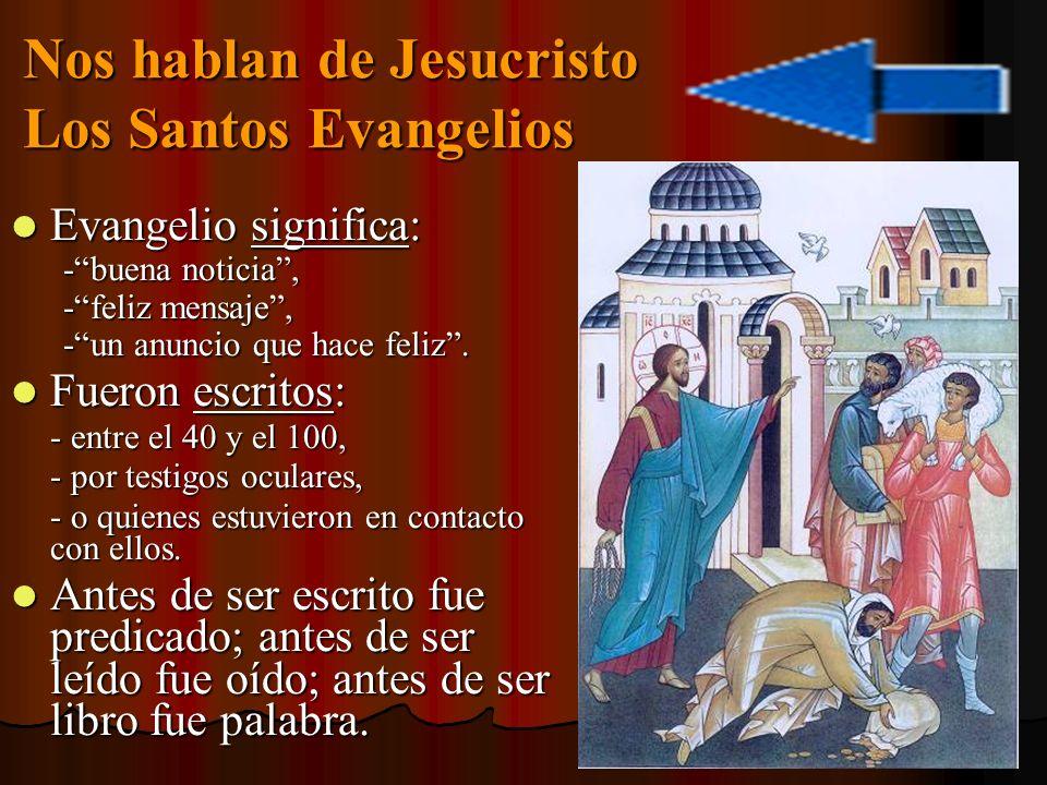 S.Marcos: Conoció a Jesús. S. Marcos: Conoció a Jesús.