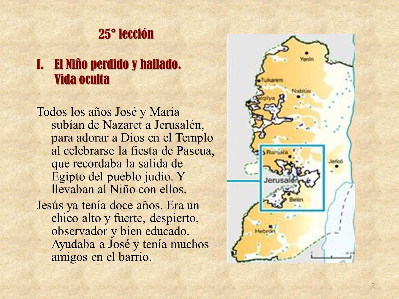 25° lección I.El Niño perdido y hallado.