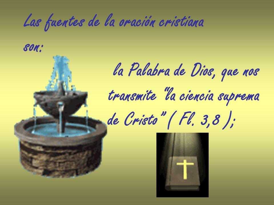 La familia cristiana constituye el primer ámbito de educación a la oración.