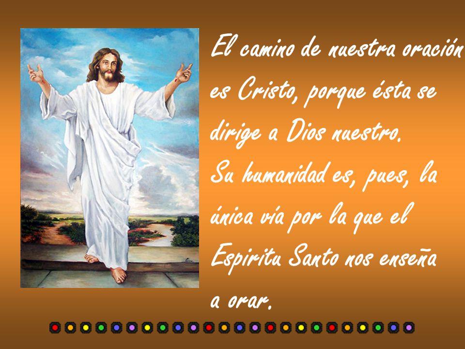Puesto que el Espíritu Santo es el Maestro inte- rior de la oración cristiana y nosotros no sabemos pedir como conviene ( Rm.
