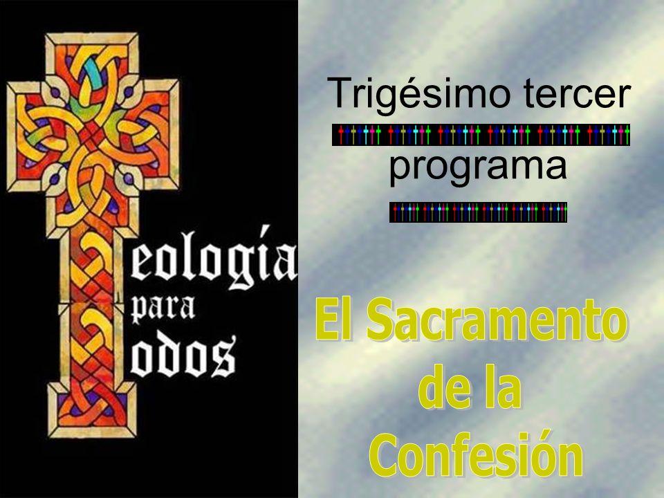 Este Sacramento se llama también de la Reconciliación, del Perdón, de la Penitencia y de la Conversión.