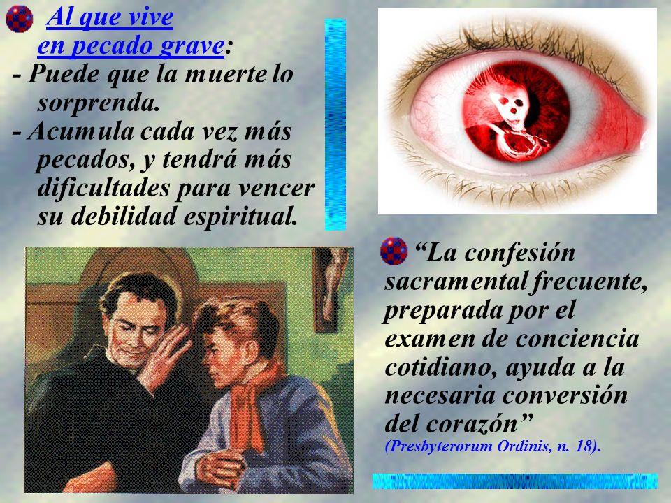 Para hacer una buena confesión cinco son los puntos a tener en cuenta: 1.Examen de conciencia.