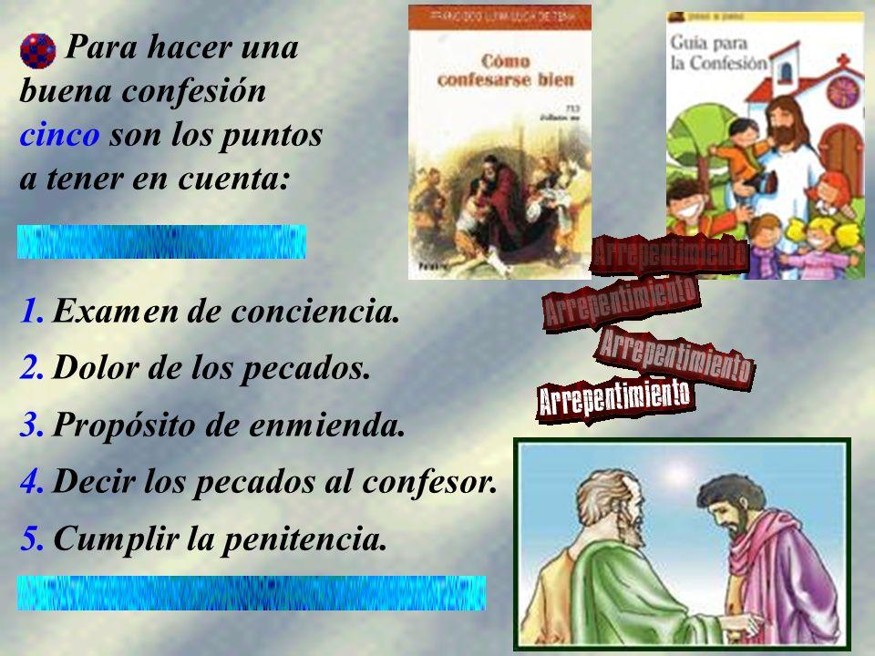 Consiste en: recordar los pecados (de pensamiento, palabra, obra o por omisión, contra la ley de Dios, de la Iglesia o contra las obligaciones particulares) cometidos desde la última confesión bien hecha.