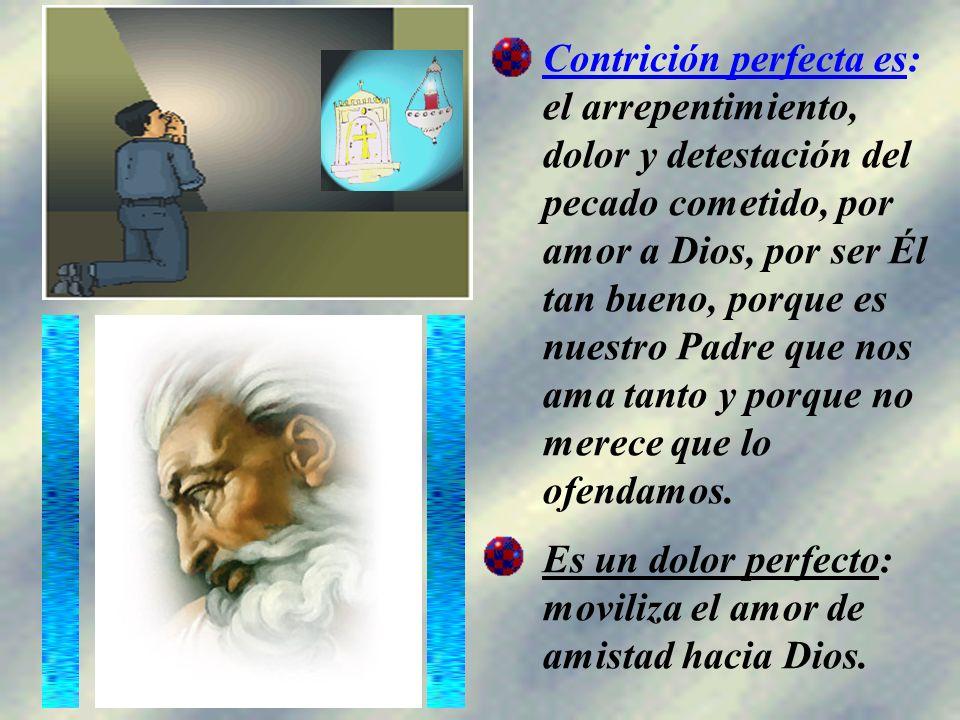 Enseña el Catecismo: Cuando brota del amor de Dios amado sobre todas las cosas, la contrición se llama contrición perfecta.