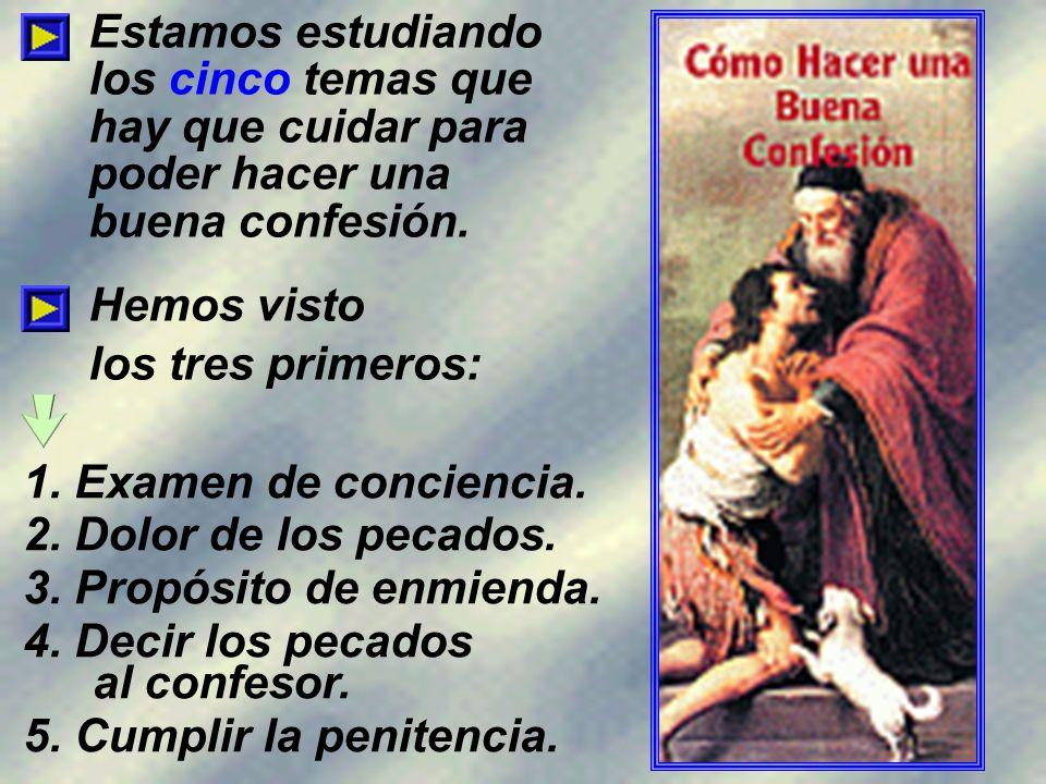 Al confesor hay que decirle voluntariamente, con humildad, y sin engaño ni mentira, todos y cada uno de los pecados graves no acusados en confesión individual; en orden a recibir la absolución.