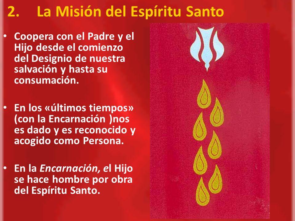 En Pentecostés, el Padre y el Hijo envían al Espíritu Santo para vivificar el Cuerpo Místico de Cristo que es la Iglesia.