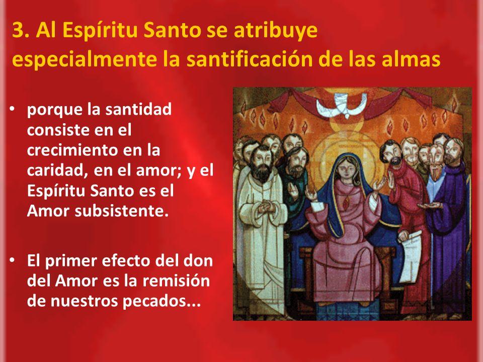 El Espíritu Santo nos moldea con su gracia y con sus dones para que nos identifiquemos con N.