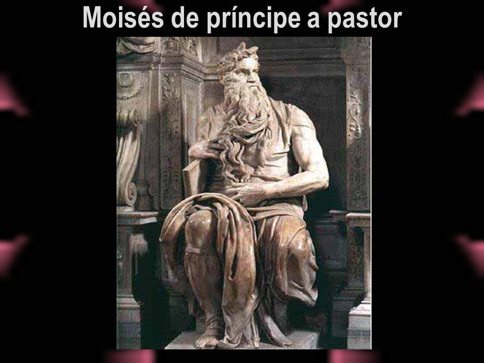 Moisés de príncipe a pastor
