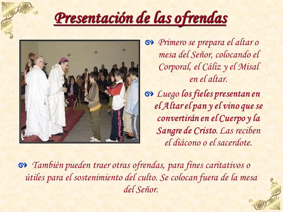 Liturgia Eucarística Liturgia Eucarística Es la parte más importante de la Misa. La Liturgia de la Palabra y la Liturgia Eucarística no son dos actos