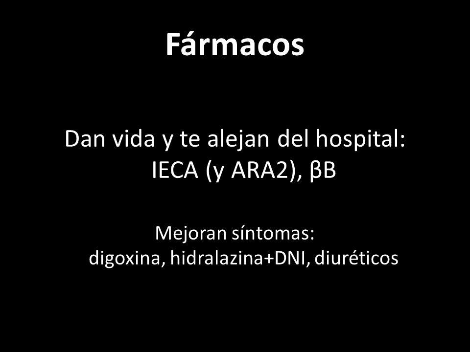 IECA FEVI40%, incluso asintomático.Enalapril, lisino...