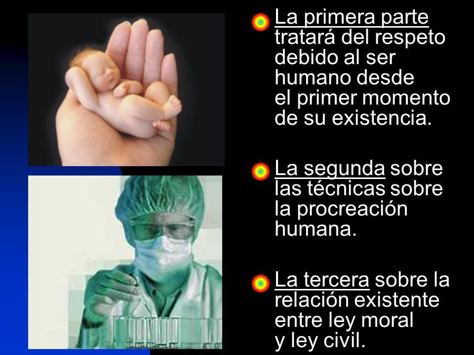 Si el progreso tecnológico no está encauzado por la moral, puede atentar contra la dignidad de la persona humana.