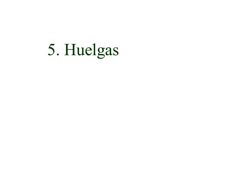 5. Huelgas
