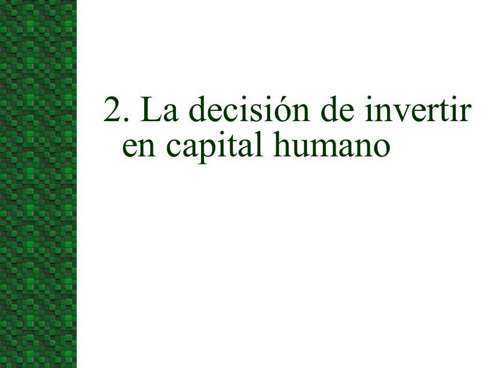 El mercado de capitales está sesgado hacia el capital físico en relación al humano.