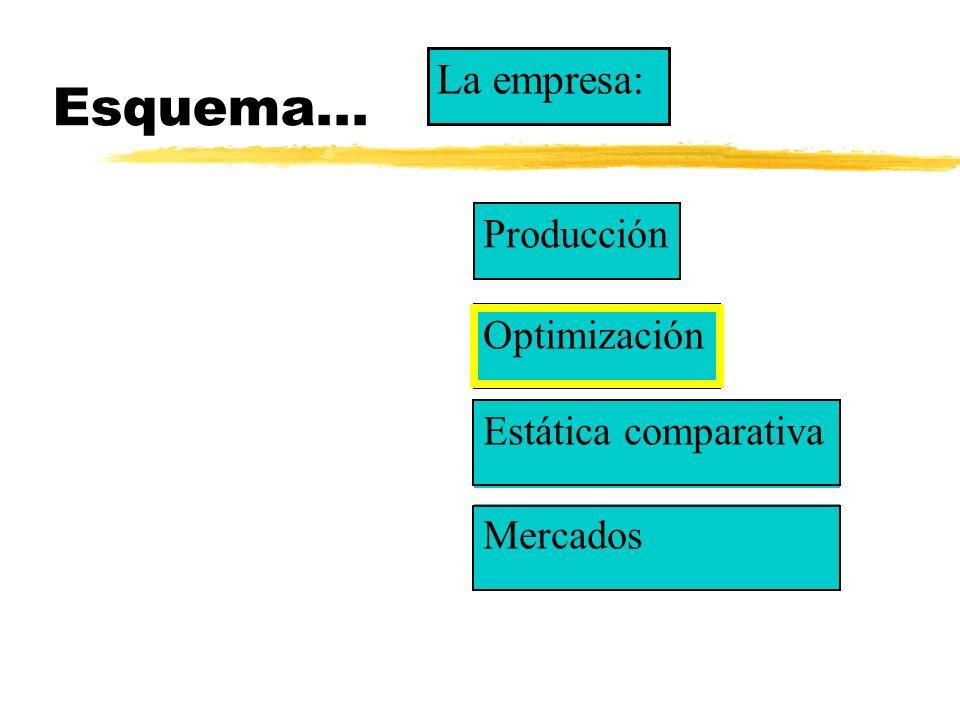l Tendremos que plantear y resolver un problema estándar de optimización l Hagamos una lista de sus componentes l...