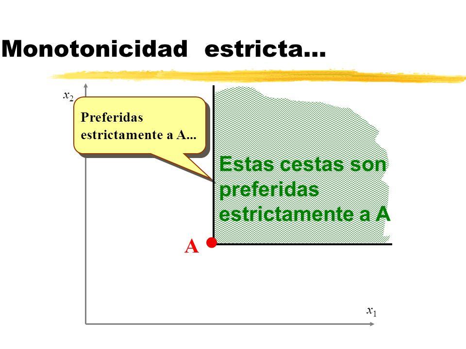 Práctica EJERCICIOS: (1) Dadas la completitud, la transitividad y la monotonicidad, demostrad que dos curvas de indiferencia no se pueden cortar.