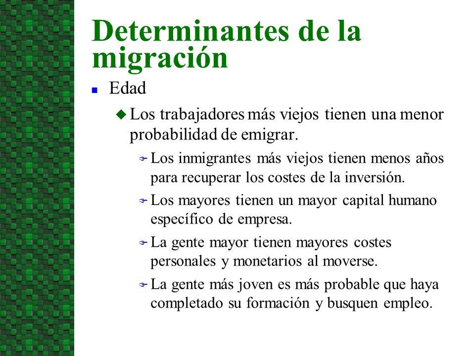 Aunque la emigración aporta ganancias en eficiencia, tiene efectos positivos y negativos sobre terceros, llamados externalidades.