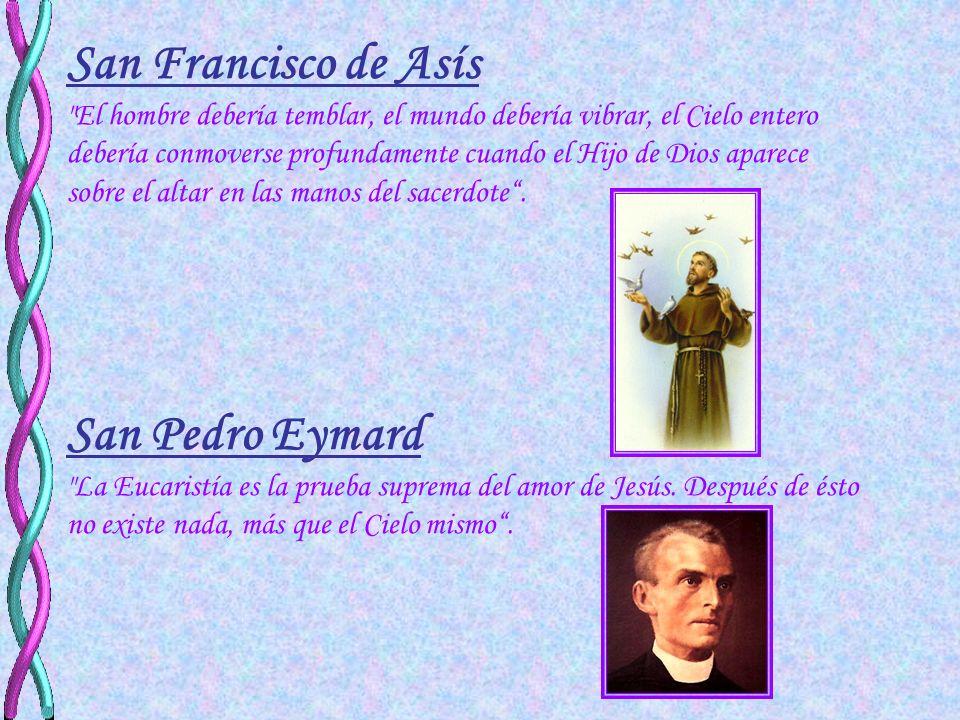 Escritos de los santos sobre la Eucaristía San Bernardo
