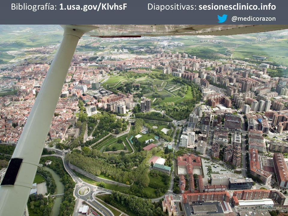 Bibliografía: 1.usa.gov/KlvhsFDiapositivas: sesionesclinico.info @medicorazon