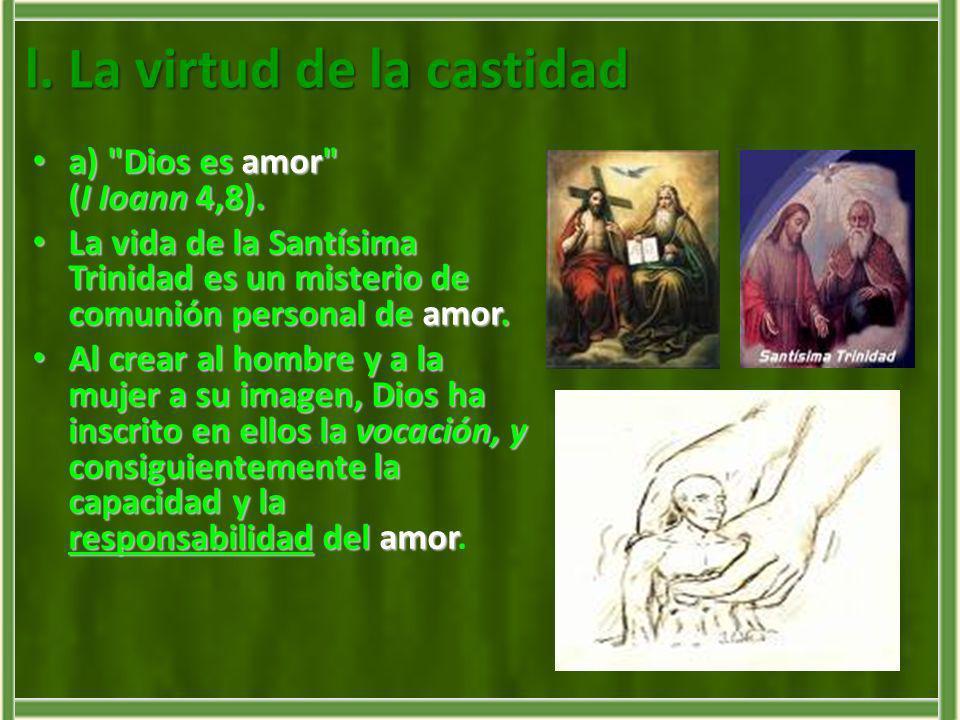 La vocación a seguir al Señor en celibato apostólico es, por tanto, una especial llamada al Amor: es el Amor el Amor de los amores el motivo de nuestro celibato.