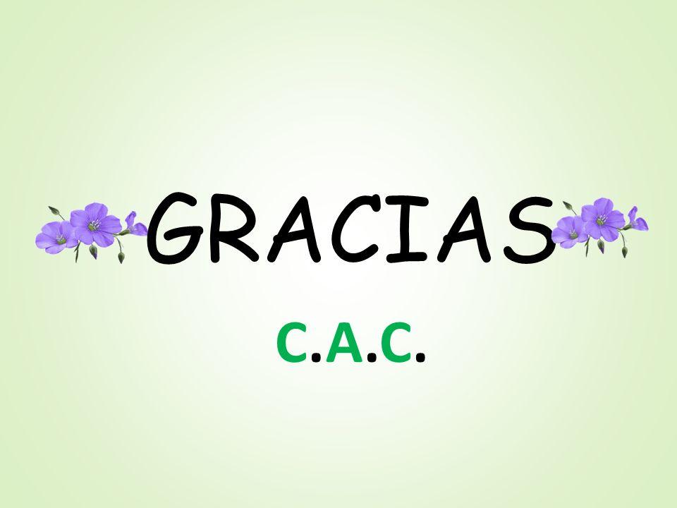 GRACIAS C.A.C.C.A.C.