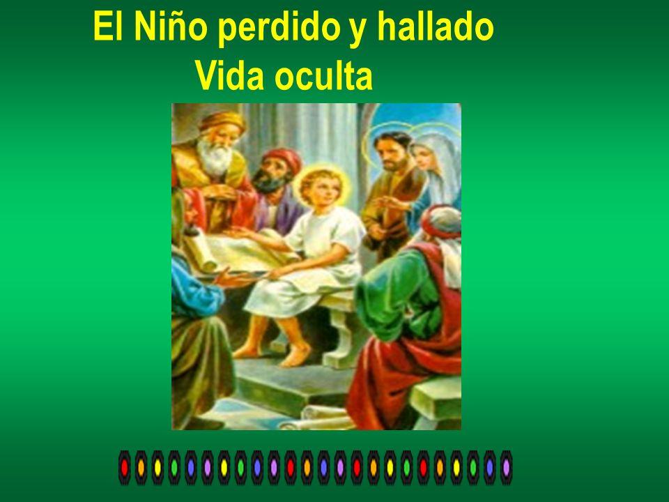 Y, ocupando un lugar destacado entre los presentes el Niño Jesús hacía preguntas y contestaba las que dirigían los doctores y ancianos.