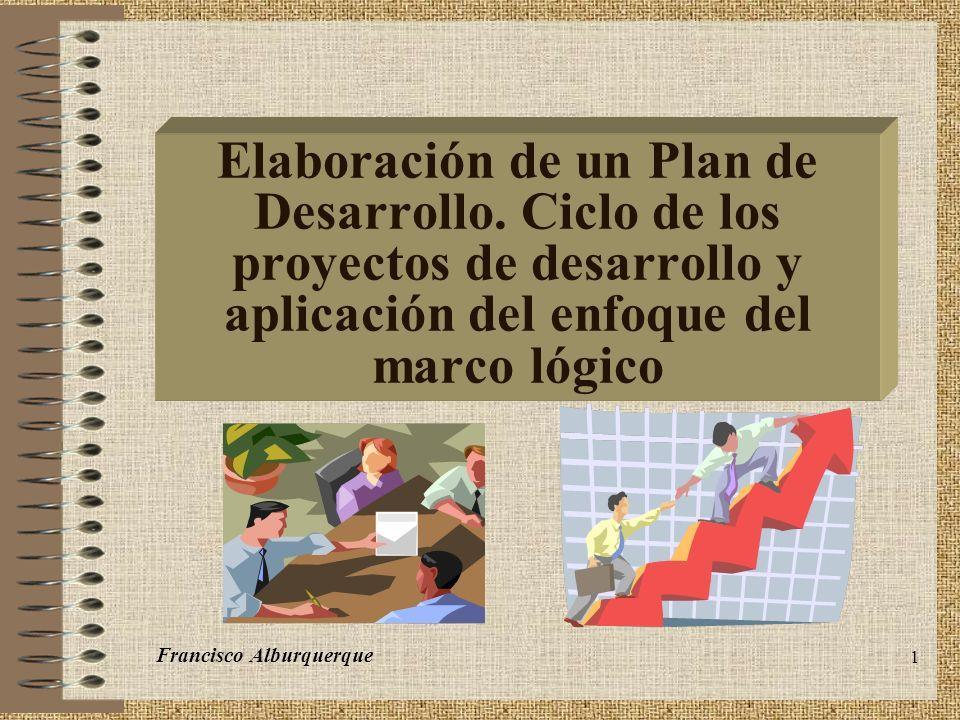2 Secuencia de un Plan de Desarrollo F.