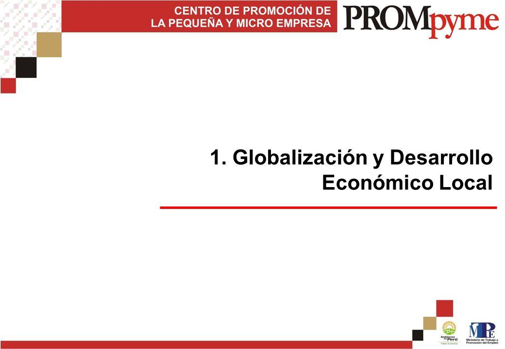 1. Globalización y Desarrollo Económico Local